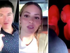 """[Video] """"¿Quieren ver mis tenis?"""", se burlan del senador Samuel García tras ser ignorado por su esposa (nota de SinEmbargo) julioastillero.com"""