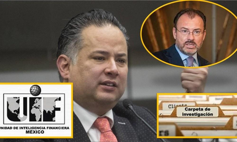 Santiago Nieto revela que la UIF encontró elementos en contra de Videgaray – El gato político News