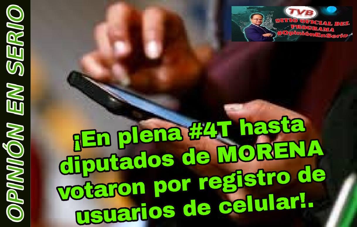 #EnVivo #OpiniónEnSerio: ¡Hasta diputados de MORENA avalan iniciativas fallidas e impopulares del gobierno de Calderón!. ¡Lejos de terminar crisis de DH!. @youtube
